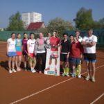 Damen-Feld mit 10 Teilnehmern