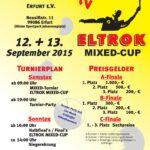 Plakat ELTROK Mixed Cup 2015